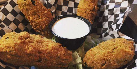 Allen Eagle Eggs   Appetizers   Restaurants Allen, TX   TwoRows Classic Grill