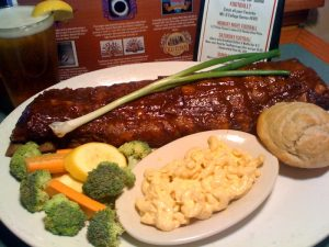 Hickory Smoked Baby Back Ribs | Specialties Menu | Restaurants Allen, TX | TwoRows Classic Grill