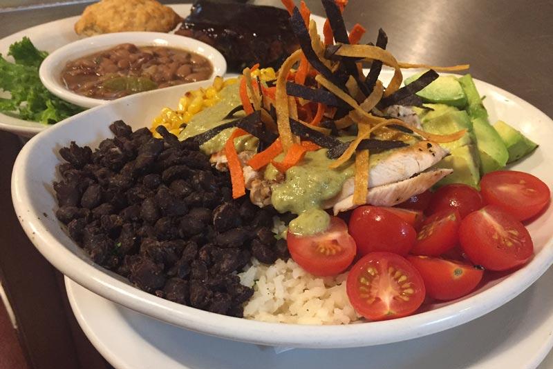 Baja Bowl | Soup & Salad Menu | Restaurants Allen, TX | TwoRows Classic Grill