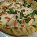 Blackened Chicken Alfredo Pizza | Wood-Fired Brick Oven Pizza | Restaurants Allen, TX | TwoRows Classic Grill