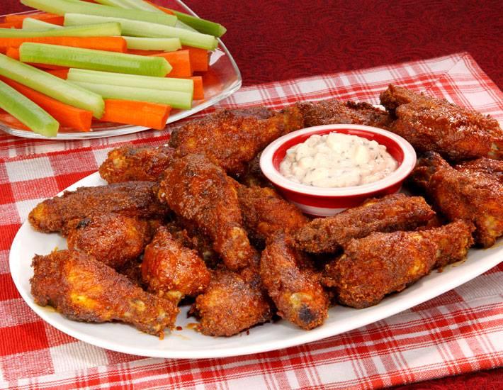 Buffalo Wings | Appetizers | Restaurants Allen, TX | TwoRows Classic Grill