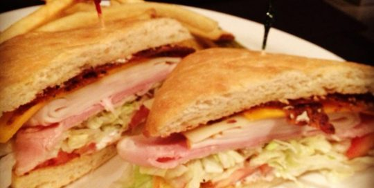 California Club Sandwich | Sandwich Menu | Restaurants Allen, TX | TwoRows Classic Grill