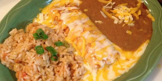 Cheese Enchiladas | Enchilada Menu | Restaurants Allen, TX | TwoRows Classic Grill