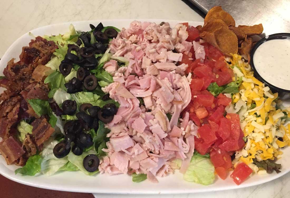 Bryces' Chef Salad | Soup & Salad Menu | Restaurants Allen, TX | TwoRows Classic Grill