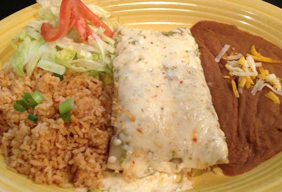 Thursday Lunch Deal - $6.99 Enchiladas Special