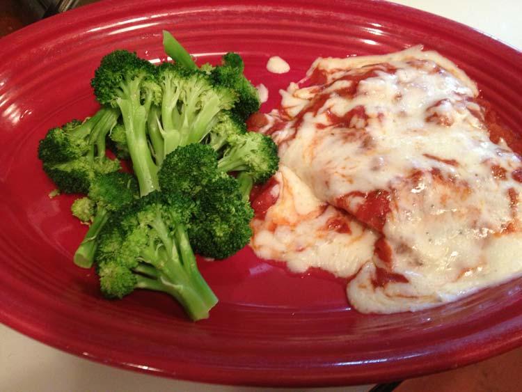 Chicken Parmesan | Gluten Friendly Menu | Restaurants Allen, TX | TwoRows Classic Grill