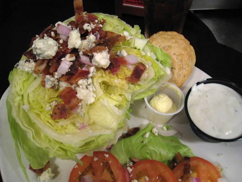 TwoRows Classic Wedge Salad | Soup & Salad Menu | Restaurants Allen, TX | TwoRows Classic Grill