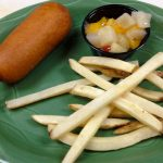 Corn Dog | Kid's Menu | Restaurants Allen, TX | TwoRows Classic Grill