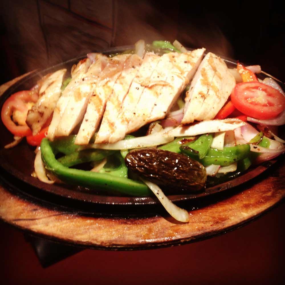 Friday Lunch Deal - $6.99 Chicken Fajitas