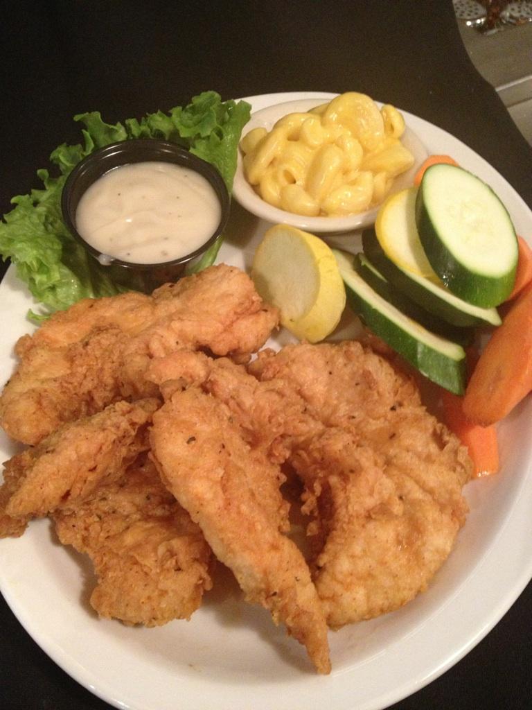 Fried Chicken Tenders Specialty Entrees Tworows Allen Tx