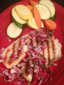 Grilled Tilapia | Gluten Friendly Menu | Restaurants Allen, TX | TwoRows Classic Grill