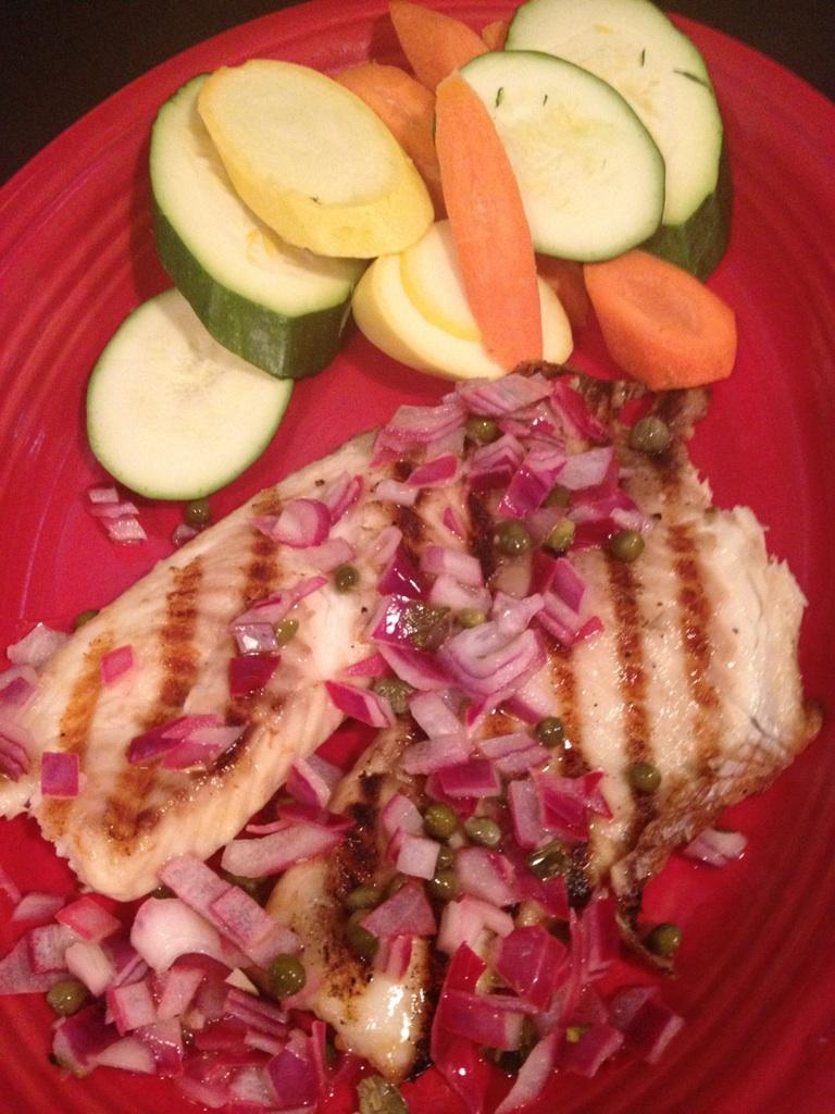 Grilled Tilapia | Gluten Friendly Menu | Restaurants Allen, TX | TwoRows Classic Grill
