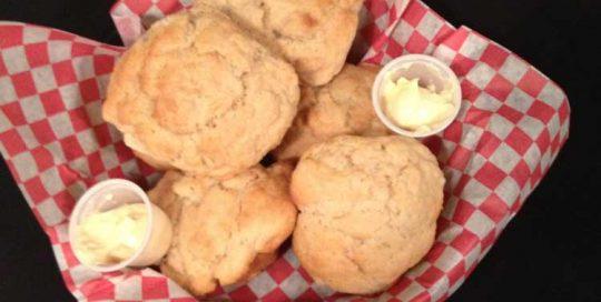 Honey Blonde Beer Muffins   Appetizers   Restaurants Allen, TX   TwoRows Classic Grill