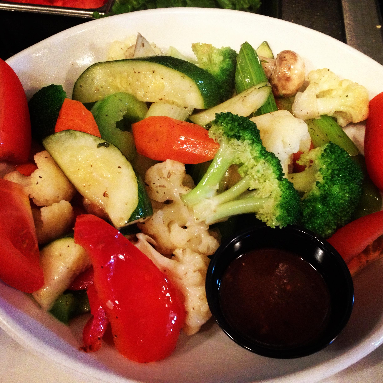 Honey Blonde Vegetable Plate | Soup & Salad Menu | Restaurants Allen, TX | TwoRows Classic Grill