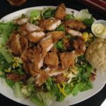 Honey Mustard Chicken Tender Salad | Soup & Salad Menu | Restaurants Allen, TX | TwoRows Classic Grill