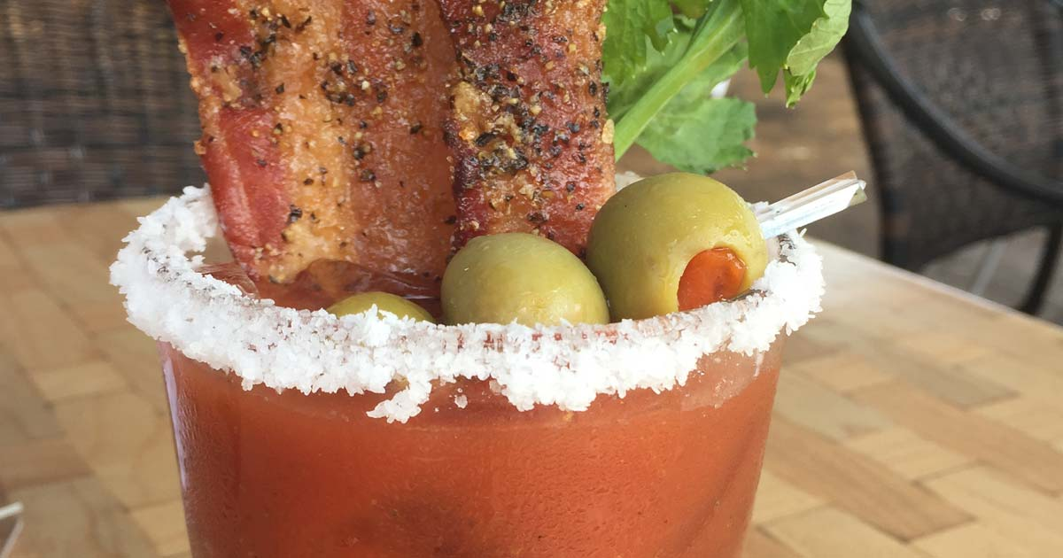 Honey Pepper Bacon™ in a Bloody Mary