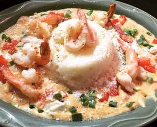 Shrimp & Grits | Specialties Menu | Restaurants Allen, TX | TwoRows Classic Grill