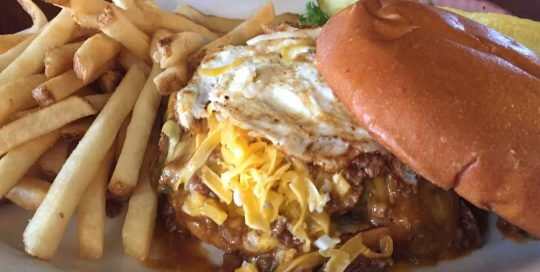 Slap Yo Mama Burger | Best Burgers | Restaurants Allen, TX | TwoRows Classic Grill