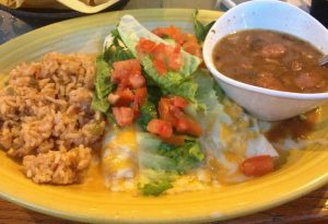 Sour Cream Chicken Enchiladas | Enchilada Menu | Restaurants Allen, TX | TwoRows Classic Grill