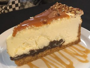 Turtle Cheesecake | Delicious Desserts | Restaurants Allen, TX | TwoRows Classic Grill