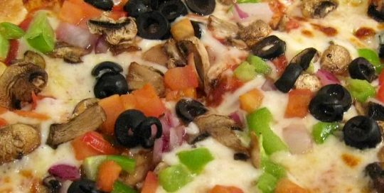 Vegetable Garden Pizza   Wood-Fired Brick Oven Pizza   Restaurants Allen, TX   TwoRows Classic Grill