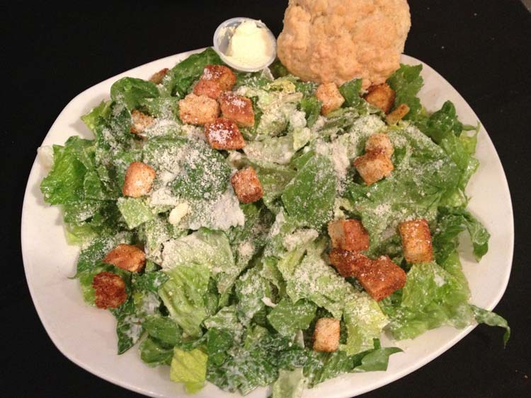Chicken Classic Caesar | Soup & Salad Menu | Restaurants Allen, TX | TwoRows Classic Grill