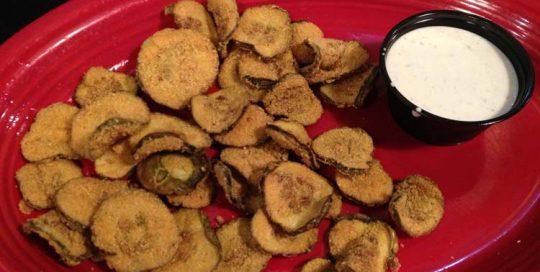 Fried Pickles | Gluten Friendly Menu | Restaurants Allen, TX | TwoRows Classic Grill