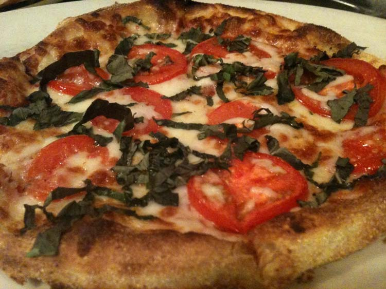 Margherita Pizza | Wood-Fired Brick Oven Pizza | Restaurants Allen, TX | TwoRows Classic Grill