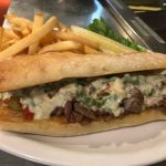 Allen Cheese Steak Sandwich | Sandwich Menu | Restaurants Allen, TX | TwoRows Classic Grill