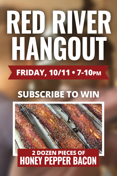 Subscribe to Win Honey Pepper Bacon