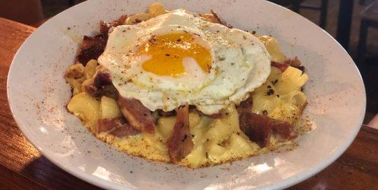 Breakfast Mac | Brunch Menu | Restaurants Allen, TX | TwoRows Classic Grill