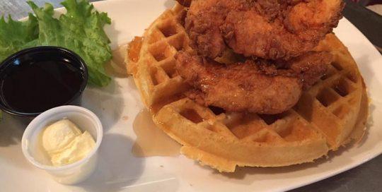 Chicken & Waffles | Brunch Menu | Restaurants Allen, TX | TwoRows Classic Grill