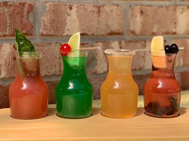 Mimosas Flight | Brunch Menu | Restaurants Allen, TX | TwoRows Classic Grill