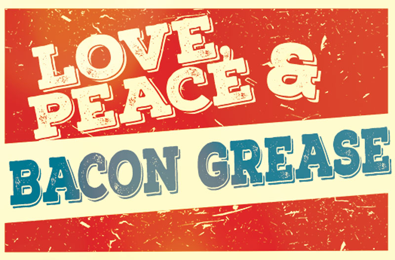 Love, Peace & Bacon Grease - Order Honey Pepper Bacon online!